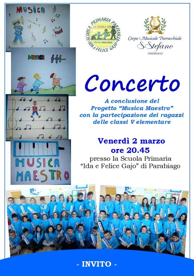 """PROGETTO """" MUSICA MAESTRO"""""""
